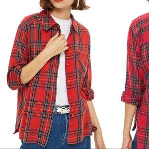 Top Shop Flannel shirt!